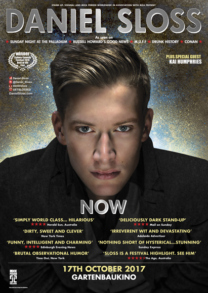 <h2>Daniel Sloss October 17th 2017</h2>